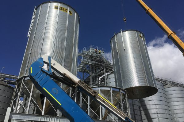 farm cone silos