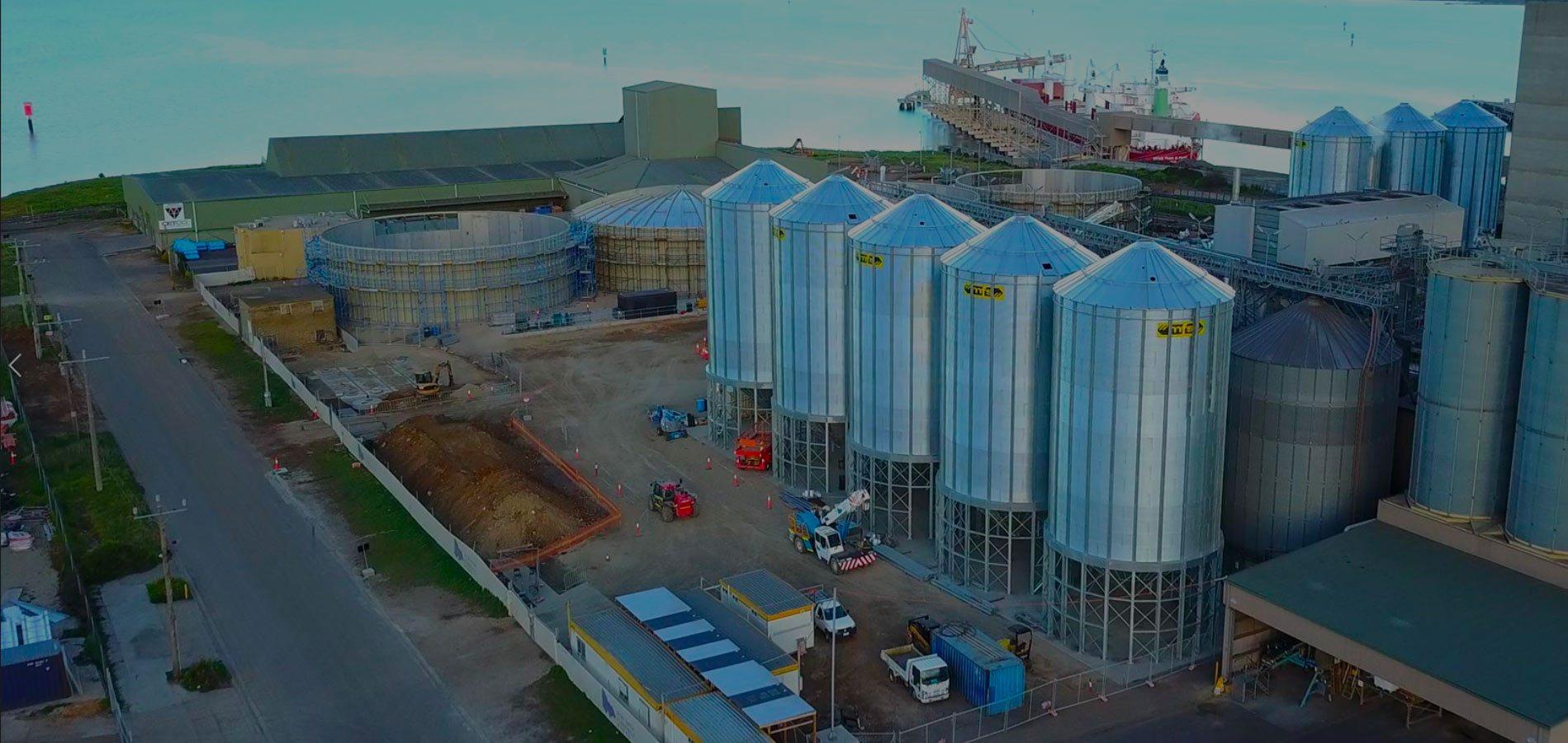 Australia's Leading Grain Silos & Management Solutions | Allied