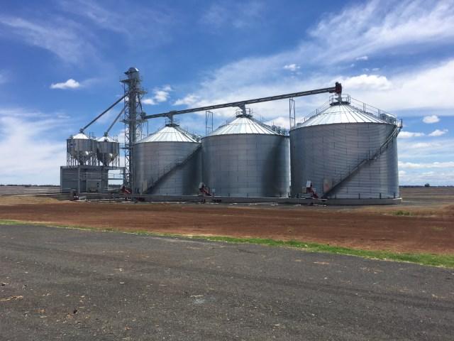 Flat Bottom Silos - Allied Grain Systems