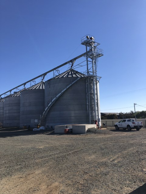 Fellows Grain Storage- Hay NSW - Allied Grain Systems